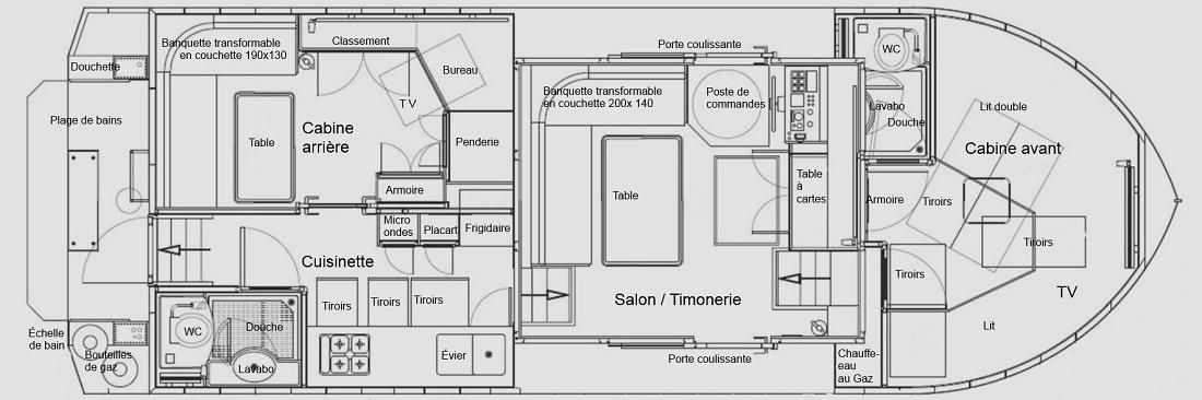 Franconia Plan Coupe Horizontale Description